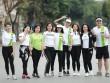 Các bóng hồng làng thể thao Việt trong ngày chạy Olympic 2017