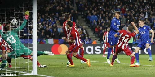 """Leicester City - Atletico Madrid: """"Gậy ông đập lưng ông"""" - 1"""