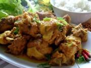 Ẩm thực - Cách kho thịt gà công nghiệp dai ngon, không bở