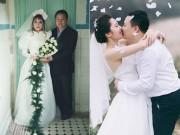 Bộ ảnh cưới xuyên suốt cả thế kỷ của cặp đôi Hà thành