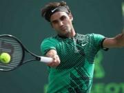 """Tin thể thao HOT 19/4: Federer  """" dọa dẫm """"  đối thủ"""