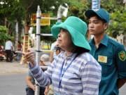 Nữ chủ tịch phường bị  dọa  khi dẹp loạn vỉa hè