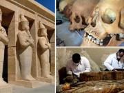 Thế giới - Ai Cập: 8 xác ướp và kho báu bí ẩn trong hầm mộ 3.500 năm