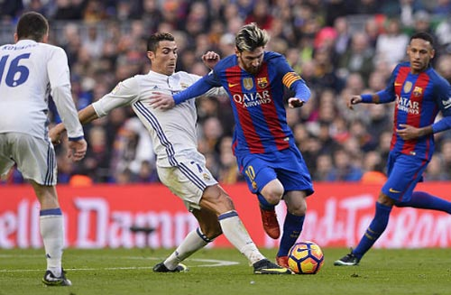 Siêu kinh điển Barca-Real: Messi & Ronaldo chờ chiều tàn - 1