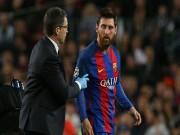 """Bóng đá - """"Thảm họa"""" Messi: Fan Barca dè bỉu trọng tài giàu nhất thế giới"""
