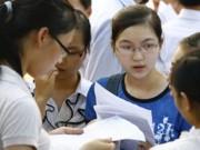 Giáo dục - du học - Hôm nay, hạn chót nộp hồ sơ đăng ký thi THPT quốc gia, xét tuyển ĐH