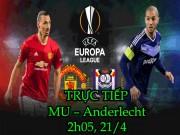 Bóng đá - Chi tiết MU – Anderlecht: Kéo dài sang hiệp phụ (KT)