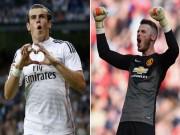 """Chuyển nhượng MU:  """" Quỷ đỏ """"  đòi Real đổi De Gea lấy Bale"""