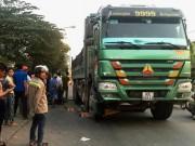 Tai nạn giao thông - Người phụ nữ tử nạn dưới bánh xe ben vì tiếng còi hơi