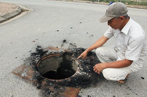 Hàng trăm nắp hố ga tại Hà Nội không cánh mà bay - ảnh 3