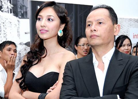Những cô vợ nõn nà, trẻ hơn chồng 25-30 tuổi của showbiz Việt - ảnh 9