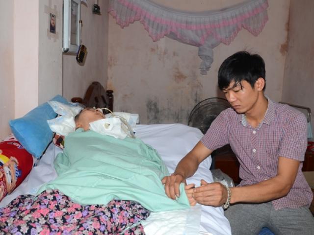 Tình chồng chăm vợ sống thực vật sau vụ nổ ở Văn Phú