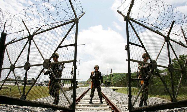 """Công việc """"chết như chơi"""" ở biên giới Triều Tiên-Hàn Quốc - 1"""