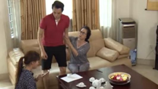 """Căng thẳng trong tập 9 """"Sống chung với mẹ chồng"""" vì vụ ngoại tình"""