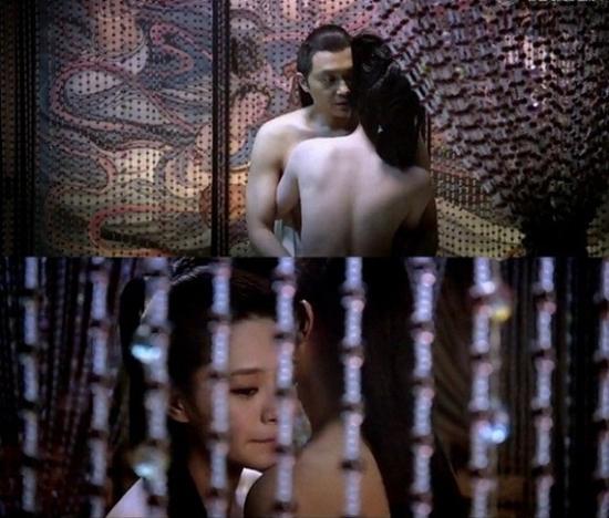 Chung Hân Đồng cảnh nóng với tài tử Trương Trí Lâm