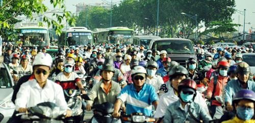 Cấm xe máy thì đi bằng xe gì? - 2
