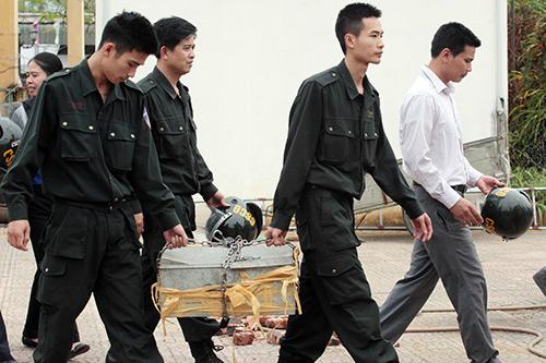 Ảnh: Toàn cảnh buổi thả 19 cán bộ, chiến sĩ tại Đồng Tâm - 9