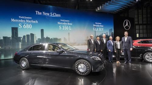 Mercedes dành riêng xe sang Maybach S680 cho Trung Quốc