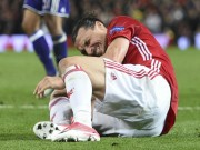 Bóng đá - MU: Ibrahimovic nghỉ gần 1 năm, cơ hội vàng cho Rooney