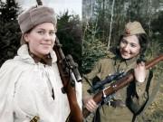 Thế giới - Đội nữ xạ thủ Nga xinh đẹp diệt hàng trăm lính phát xít