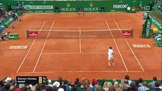 Nadal - Vinolas: Thăng hoa dứt cơn khát vàng (CK Monte-Carlo)