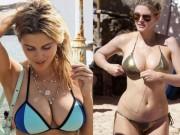 """Thời trang - Cả bãi biển """"đứng hình"""" với bikini siêu hot của mỹ nữ cuồng Chelsea"""