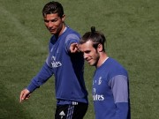 """Siêu kinh điển Real-Barca: Bale  """" mài sắc vũ khí """"  cùng Ronaldo"""