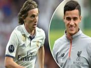 """Bóng đá - Thẳng tay """"trảm"""" Modric, Real tạo cú sốc với Coutinho"""