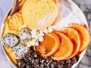 Ẩm thực - Kem chay: Món ăn thách thức nắng nóng mùa hè lẫn mỡ thừa