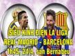 "TRỰC TIẾP Real Madrid - Barcelona: Messi hóa  "" thánh """
