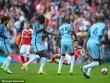 """TRỰC TIẾP Arsenal - Man City: 2 lần khung thành cứu  """" Pháo thủ """""""