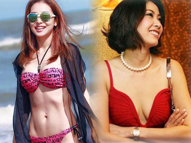 Hoa hậu Hà Kiều Anh 41 tuổi vẫn quá bốc lửa với áo tắm - 9
