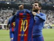 """Chùm ảnh Real Madrid - Barcelona:  """" Người khổng lồ """"  Messi"""