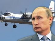 Putin điều máy bay  lượn lờ  trên các nước châu Âu