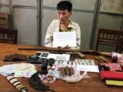An ninh Xã hội - Bị bao vây, kẻ buôn ma túy ném mìn vào công an