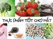 Sức khỏe đời sống - 10 loại thực phẩm cực tốt cho mắt