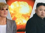 Úc phản pháo lời dọa nã tên lửa hạt nhân của Triều Tiên