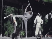 """Phim - Lý Liên Kiệt múa côn tam khúc, hạ 2 sát thủ """"dễ như bỡn"""""""