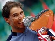 """BXH tennis 24/4: Nadal lên số 5, Serena soán  """" ngôi hậu """""""