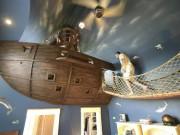 Tài chính - Bất động sản - Chiêm ngưỡng phòng ngủ mô phỏng tàu cướp biển có 1 không 2