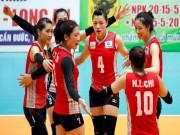 Thể thao - Bóng chuyền: Linh Chi, Ngọc Diễm thắng dễ chân dài Kazhastan