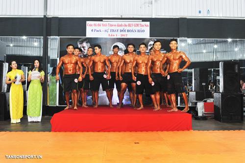 Cuộc thi Thể Hình Fitness dành cho HLV CLB Tân Sơn - 2