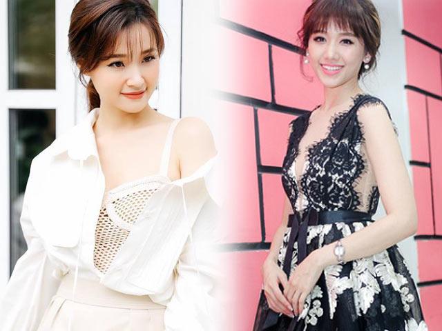 Hari Won hấp dẫn với váy xẻ ngực, Midu buông lơi khêu gợi