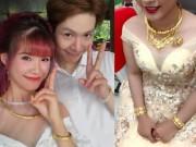 Ca nhạc - MTV - Choáng với trang sức vàng ròng của Khởi My và các cô dâu sao Việt