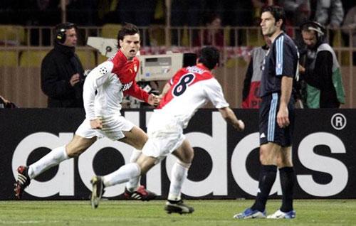 """""""Ngựa ô"""" Monaco vào bán kết cúp C1:  Chờ cổ tích có hậu"""
