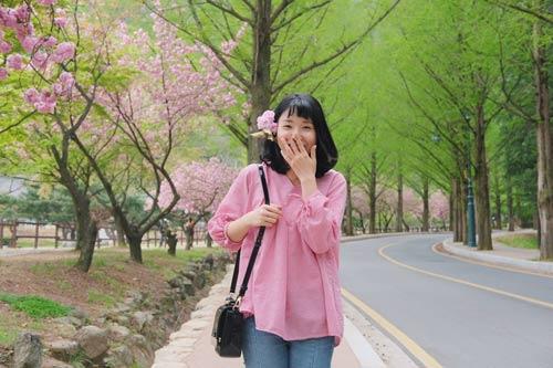 Giới trẻ Việt vi vu khắp thế giới chụp ảnh với hoa anh đào - 6
