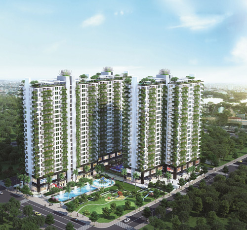 Hàng loạt dự án bất động sản bùng nổ tại khu Tây Sài Gòn - 1