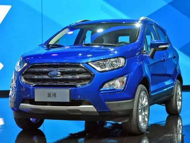 Chiêm ngưỡng Ford EcoSport 2017 sắp về Việt Nam - 1