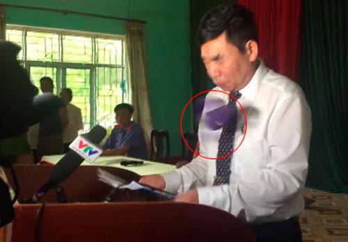 Ném dép vào Phó Chánh án đang xin lỗi ông Hàn Đức Long, phạm tội gì?