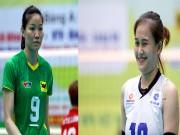 """Thể thao - Bóng chuyền: """"Đại chiến chân dài"""" Ngọc Hoa - Linh Chi"""